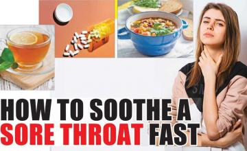 HOW TO SOOTHE A SORE THROAT FAST
