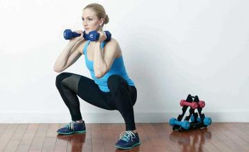 10 ways to do squats with weights