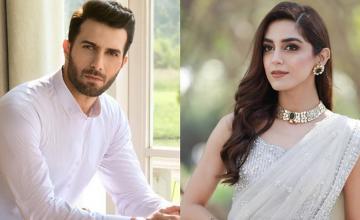 Maya Ali and Emmad Irfani are pairing up for Shoaib Mansoor's next film