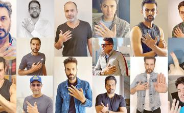 Male celebrities join forces with Shaniera Akram for her Polished Man Campaign