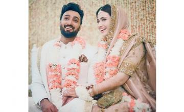 Sana Javed and Umair Jaswal got nikkahfied in an intimate ceremony