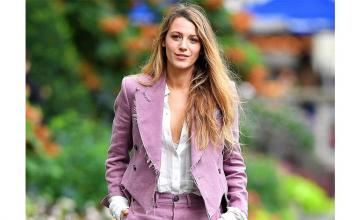 Blake Lively's tribute to Ryan Reynolds after voting will have you in fits