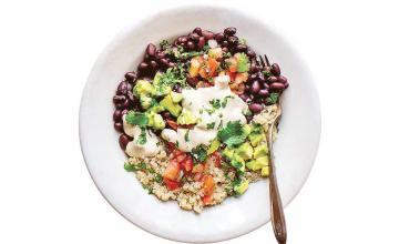 Black Bean Veggie Grain Bowl