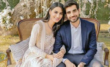 Model Rehmat Ajmal just got engaged in a fairytale ceremony
