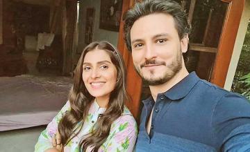 Ayeza Khan and Osman Khalid Butt paired up for Chupke Chupke