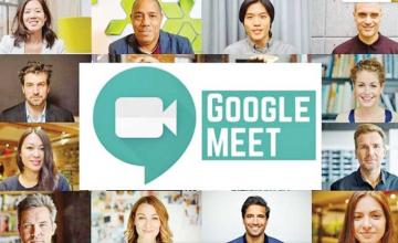 Google Meet will now let you use custom backgrounds on video calls