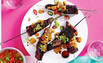 Satay Steak Skewers