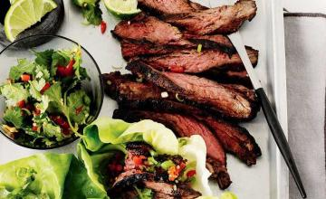 Gochujang-glazed Skirt Steak