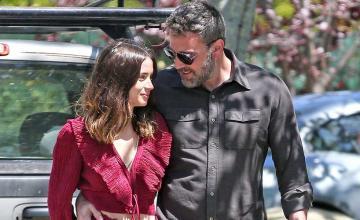 Ben Affleck and Ana de Armas reunited for the shoot of their upcoming movie