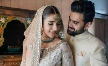 Actress Rabab Hashim got hitched and makes a stunning bride