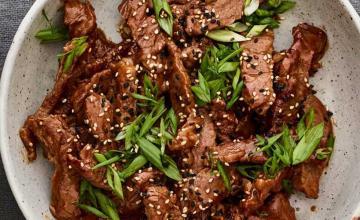 Beef & Ginger Stir-Fry