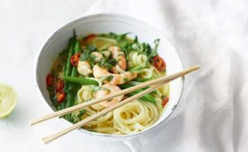 Thai Prawn Noodle Soup