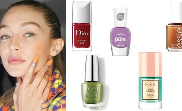 WINTER NAIL COLOURS TO BEAT YOUR COLD - WEATHER BLUES