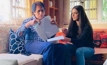 Maya Ali starts shooting for ABG with Shoaib Mansoor