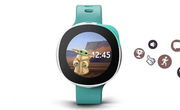Put Baby Yoda on your wrist with the new Vodafone and Disney's Neo smart watch