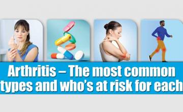 Arthritis – The most common types and who's at risk for each
