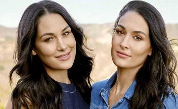 Brie and Nikki Bella celebrate their joint baby shower on 'Total Bellas'