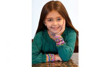 Girl's friendship bracelets raise more than $23,000 for children's hospital where she was once treated
