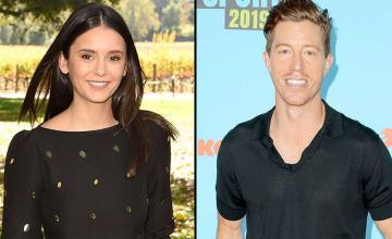 Nina Dobrev and Shaun White celebrated their first Christmas as a couple