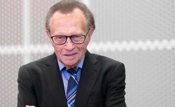 Larry King hospitalised after testing positive for coronavirus