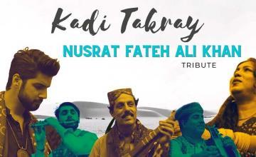 Abdullah Qureshi pays tribute to Nusrat Fateh Ali Khan with Kadi Takray