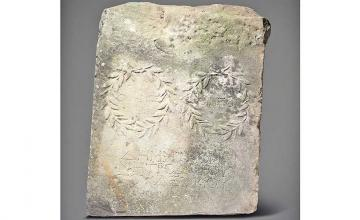 Woman discovers slab she used to climb onto horses is actually a Roman engraving worth nearly $20k