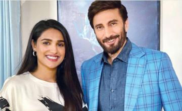 Aijaz Aslam and Amna Ilyas teaming up for the first time for a web series