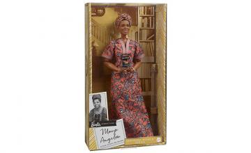 Mattel unveils Barbie doll honouring Maya Angelou ahead of Black History Month