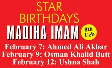 STAR BIRTHDAYS MADIHA IMAM