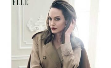Angelina Jolie opens up about her