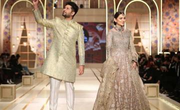 Imran Ashraf is all praises for the models of the fashion week
