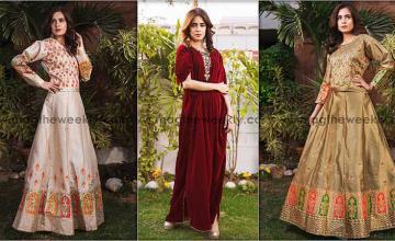 Zainab Raja - In the season's most  trending dresses