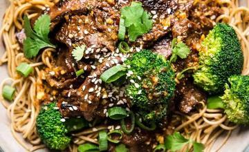 Broccoli & Beef Noodles
