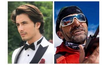 Ali Zafar pays tribute to Pakistani ace mountaineer Ali Sadpara