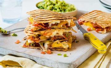 Prawn & Chorizo Quesadilla