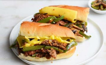 Philly Cheese Steak with Russian Dressing