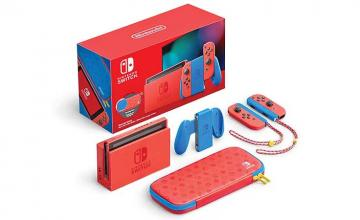 Nintendo's new Mario-themed Switch is back in stock
