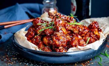 Korean Chilli, Sesame & Honey Chicken