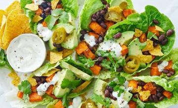 Mexican Vegetarian Caesar Salad