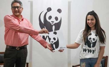 Ushna Shah becomes the new Goodwill Ambassador for World Wildlife Fund Pakistan