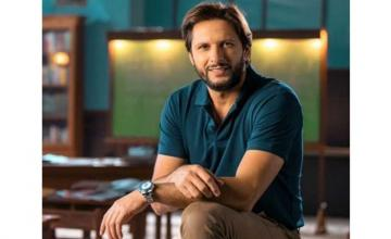 Shahid Afridi launches his new skincare line