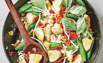 Thai Turkey Stir-Fry
