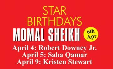 STAR BIRTHDAYS MOMAL SHEIKH