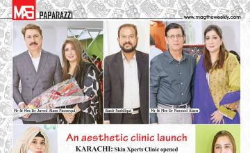An aesthetic clinic launch