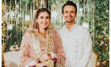 Usman Mukhtar ties the knot following an intimate wedding ceremony