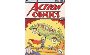 Rare comic featuring the first appearance of Superman sells for a record $3.25 million