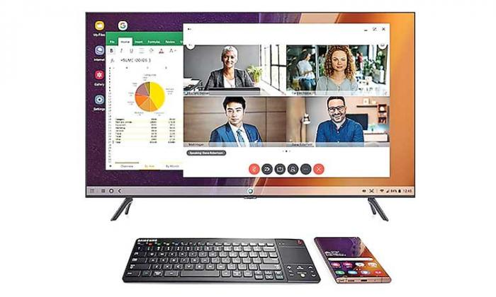Samsung's new wireless keyboard designed for DeX is coming your way