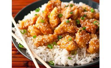 Honey Sesame Chicken Bowl