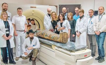 Researchers discover world's first Egyptian mummy who was expectant at time of death