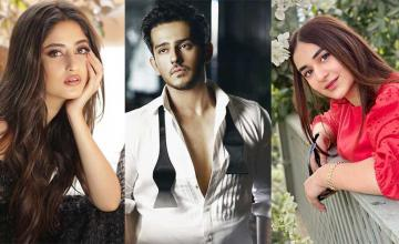 Azaan Sami Khan is gearing up for his acting debut alongside Sajal Aly and Yumna Zaidi